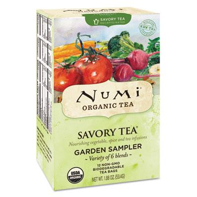 Savory Tea, Garden Sampler, 1.85 oz Teabag, 12/Box