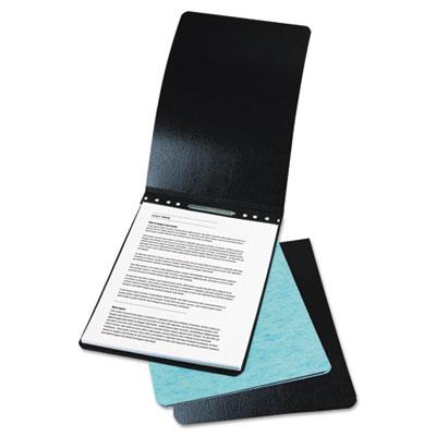 "Presstex Report Cover, Prong Clip, Legal, 2"" Capacity, Light Blu"