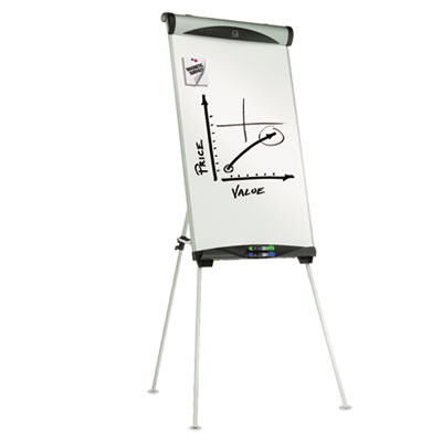 Euro Magnetic Dry Erase Easel, 27 x 39, White
