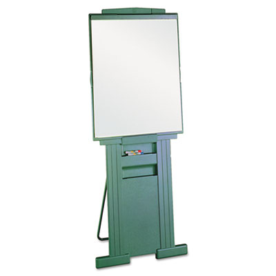 "Duramax Portable Presentation Easel, Adjusts 39"" to 72"" High, Pl"