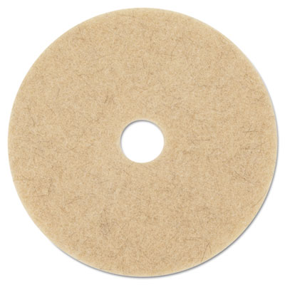 Ultra High-Speed Natural Blend Floor Burnishing Pads 3500, 27-In