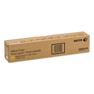 006R01458 Toner, 15000 Page-Yield, Yellow