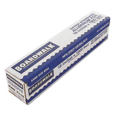 "Premium Quality Aluminum Foil Roll, 18"" x 1000 ft, 16 Micron Thi"