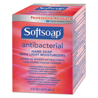 Antibacterial Moisturizing Hand Soap, Crisp Clean Scent, 800 mL