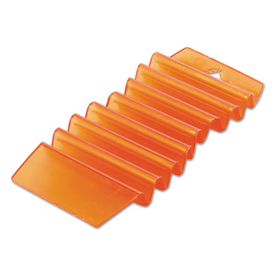 Eco-Fresh Odor Eliminating Hang Tags, Mango, Orange, 12/Carton