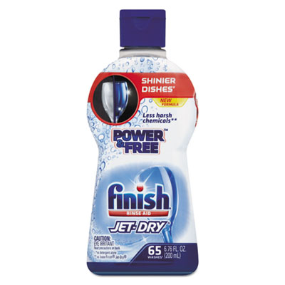 Jet-Dry Power And Free Rinse Aid, 6.76 oz Bottle