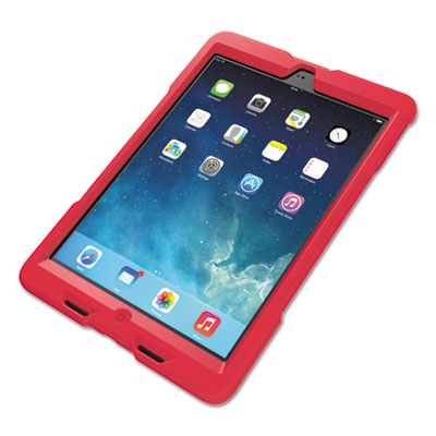 BlackBelt 1st Degree Rugged Case for iPad Air, Red
