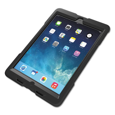BlackBelt 1st Degree Rugged Case for iPad Air, Black