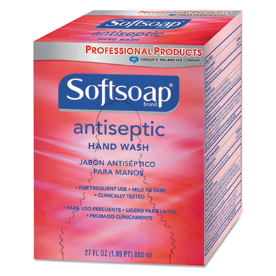 Antibacterial Hand Soap, 800 mL Refill, Red, 12 Boxes/Carton