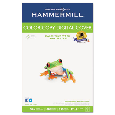 Copier Digital Cover Stock, 60 lbs., 17 x 11, White, 250 Sheets