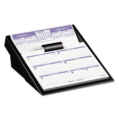 "Flip-A-Week Desk Calendar and Base, 5 5/8"" x 7"", 2015"