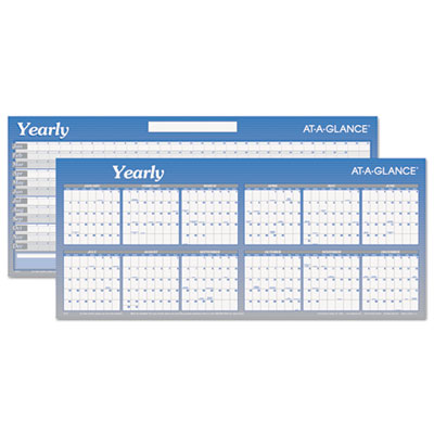 "Horizontal Erasable Wall Planner, 60"" x 26"", 2015"