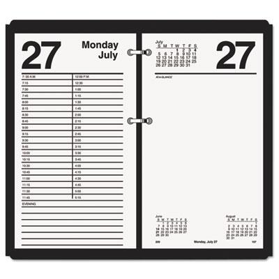 "Large Desk Calendar Refill, 4 1/2"" x 8"", 2015"