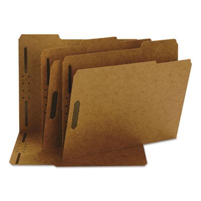 11 Point Kraft Folders, Two Fasteners, 1/3 Cut Top Tab, Letter,