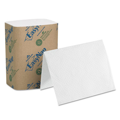 "EasyNap Embossed Dispenser Napkins Two-Ply, 6 1/2"" x 9 7/8"", Whi"