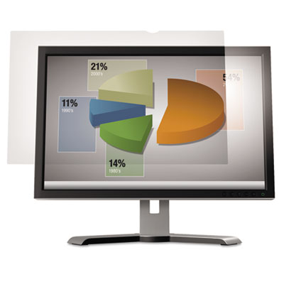"Anti-Glare Flatscreen Frameless Monitor Filters for 15"" Widescre"