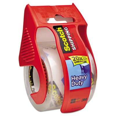 "3850 Heavy-Duty Packaging Tape in Sure Start Disp. 1.88"" x 22.2y"