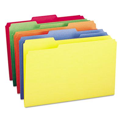 Smead&Reg; Smead Manufacturing Co. 16943 File Folders, 1/3 Cut Top Tab, Legal, Assorted Colors, 100/Box at Sears.com