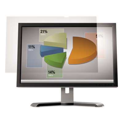 "Anti-Glare Flatscreen Frameless Monitor Filters for 19"" Widescre"