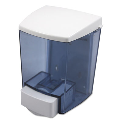 ClearVu Liquid Soap Dispenser, 30oz, 4 1/2w x 4d x 6 1/4h, Black