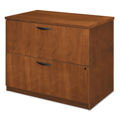 BW Veneer Series Two-Drawer Lateral File, 36 x 24 x 29,Bourbon C