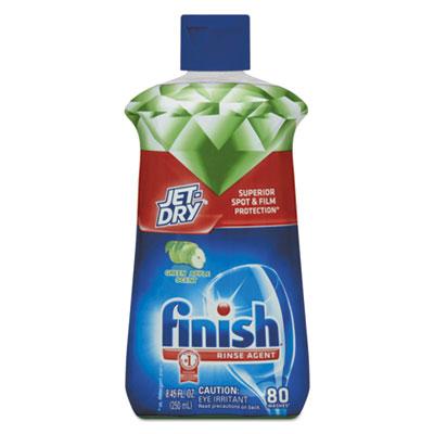 Jet-Dry Rinse Agent, Green Apple Vinegar, 8.45 oz Bottle