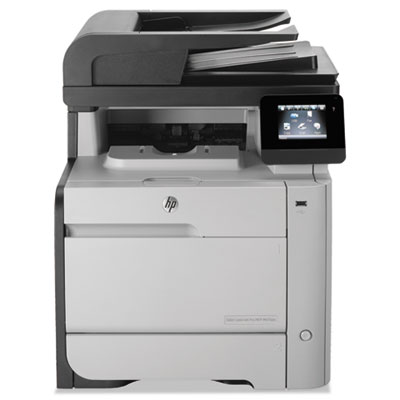 Color LaserJet Pro M476dn Multifunction Printer, Copy/Fax/Print/