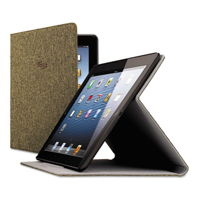 Urban Slim Case for iPad Air, Polyester Fabric, Brown