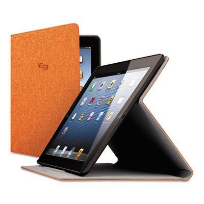 Urban Slim Case for iPad Air, Polyester Fabric, Orange