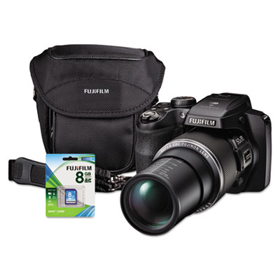 FinePix S9400W Digital Camera Bundle, 50x Optical Zoom, 16MP