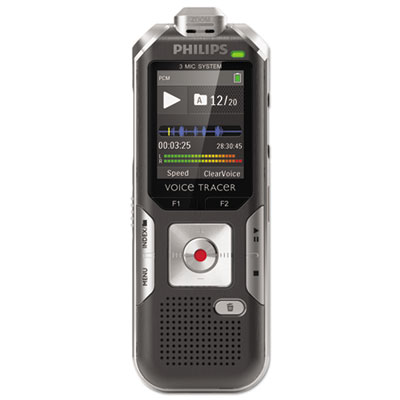 Voice Tracer 6000 Digital Recorder, 4 GB Memory, Silver Shadow/A
