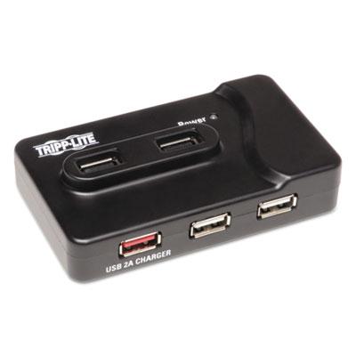 7-Port USB 3.0 SuperSpeed Charging Hub, Black