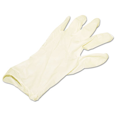 Disposable Latex Powder Free Glove, Medium, 1000/Carton