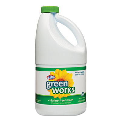Non-Chlorine Bleach, 60oz Bottle, 8/Carton