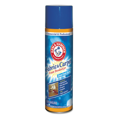 Fabric & Carpet Foam Deodorizer, 15oz Aerosol
