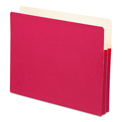 1 3/4 Inch Accordion Expansion Colored File Pocket, Straight Tab