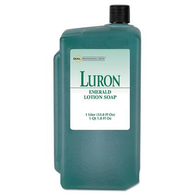 Emerald Lotion Soap, Lavender, Green, 1000mL Refill, 8/Carton