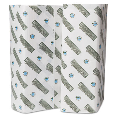 Boardwalk Green Plus C-Fold Towels, 10 1/8x3, White, 150 Sheets/