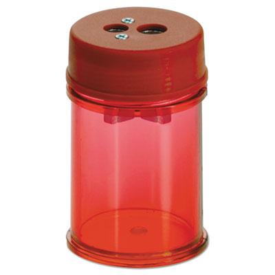 Pencil/Crayon Sharpener, Twin, Red