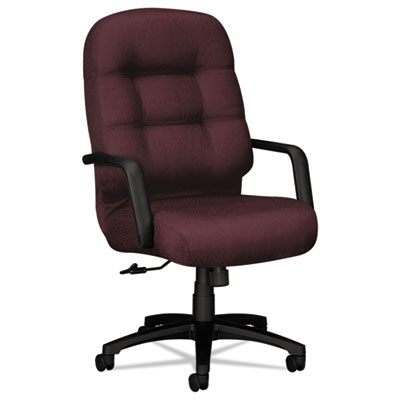 2090 Pillow-Soft Series Executive High-Back Swivel/Tilt Chair, W