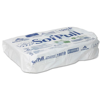 High Capacity Center Pull Tissue, 1000 Sheets/Roll, 6 Rolls/Cart