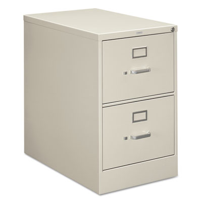 210 Series Two-Drawer, Full-Suspension File, Legal, 28-1/2d, Lig