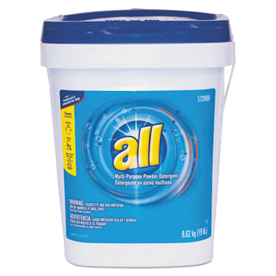 Alll-Purpose Powder Detergent, 19 lb Tub