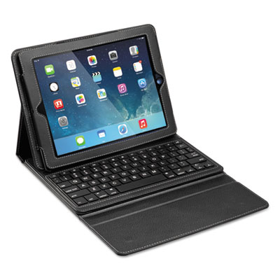 ChesterKeys&Case for iPad Air, B & W Keyset, Black