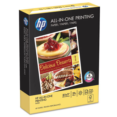 All-In-One Printing Paper, 97 Brightness, 22lb, 8-1/2 x 11, Whit
