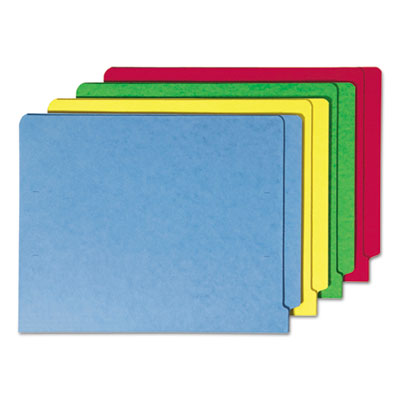Colored File Folders, Straight Cut Reinforced End Tab, Letter, Assorted, 100/Box<br />91-SMD-25013