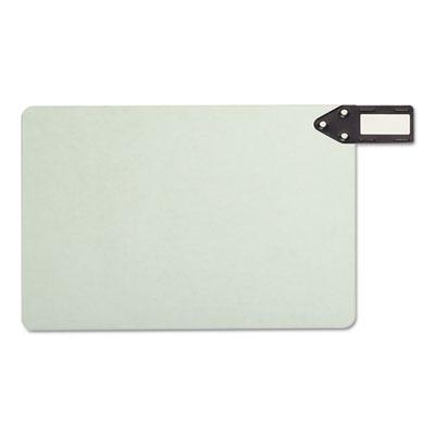 End Tab Guides, Blank, Horizontal Metal Tabs, Pressboard, Legal,