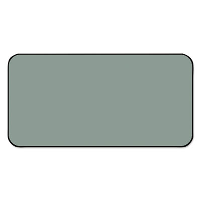 SBS1 Color-Coded Labels, Self-Adhesive, 1/2 x 1, Gray, 250 Label