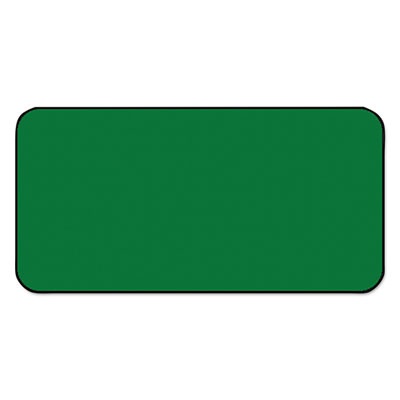 SBS1 Color-Coded Labels, Self-Adhesive, 1/2 x 1, Dark Green, 250