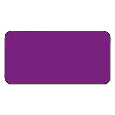 SBS1 Color-Coded Labels, Self-Adhesive, 1/2 x 1, Purple, 250 Lab